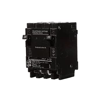 Siemens QSA2020SPD Whole House Surge Protection with Two 20-Amp ...