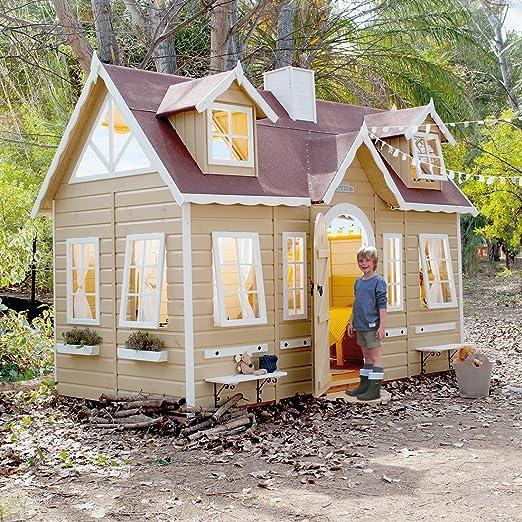 Green House Casita de Madera para Niños Paris: Amazon.es: Juguetes y juegos