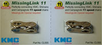 Z28 gobike88 KMC CL555R missing link for 11 speed 2 pairs Gold