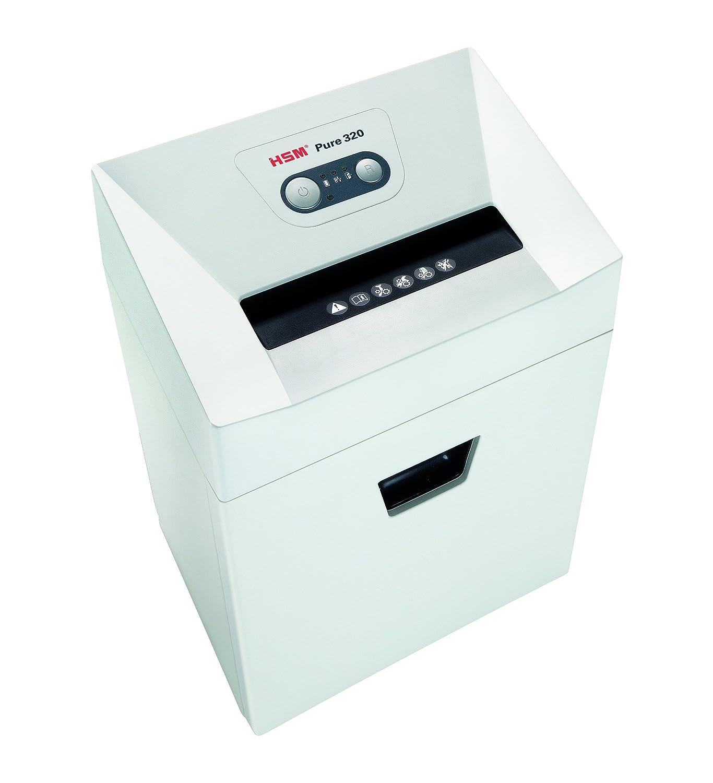 Aktenvernichter HSM Pure 320, Sicherheitsstufe 2, 17 Blatt (Streifenschnitt) HSM GmbH + Co. KG 2331111