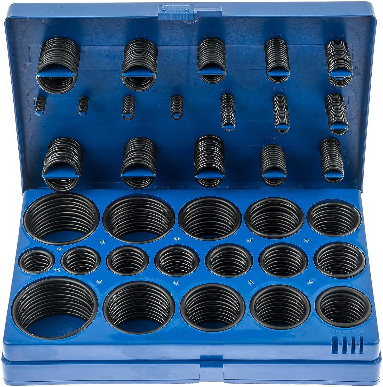 Satra S 419ra O Ring Sortiment 419 Teiliges Dichtungsringe Set Oel Benzin Säure Und Hitzebestaendig Baumarkt