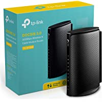 TP-Link TC-W7960 DOCSIS3.0 300Mbps Wireless WiFi Cable Modem Router for Comcast XFINITY, Time Warner Cable, Cox Communications, Charter, Spectrum