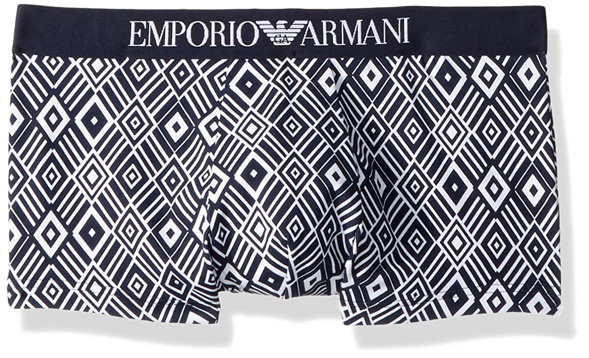 Emporio Armani Men's Optical Blue Trunk 111290-8P505