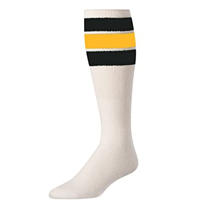 6b770a3787c Amazon.com  TCK Retro 3 Stripe Tube Socks  Clothing