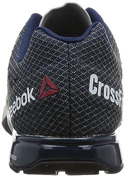 Reebok R Crossfit Nano 5.0 Grey Mens Gym Training Shoes 25210cc15