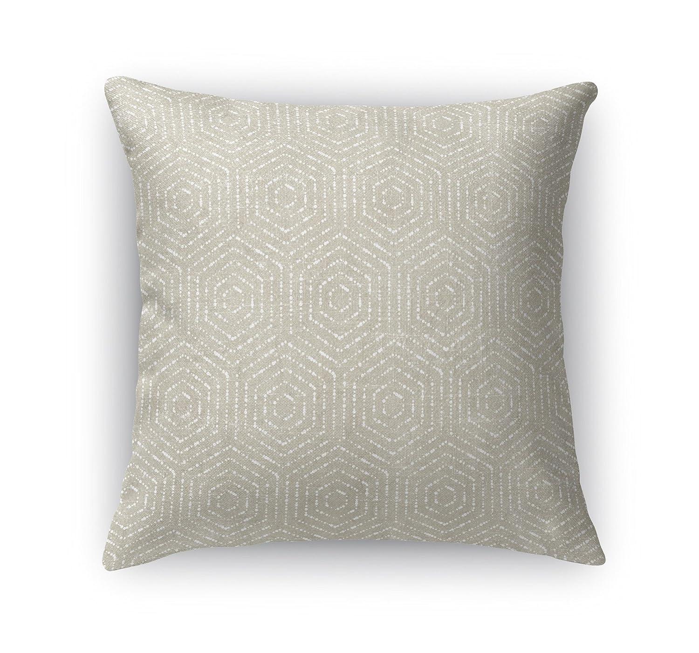 KAVKA Designs Scandicci Accent Pillow, (Beige) - Encompass Collection, Size: 24X24X6 - (TELAVC8016DI24)
