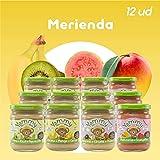 Yammy, Pack Merienda Potitos Ecológicos Frutas (4 sabores varidos) - 12 de 195 gr. (Total 2340 gr.)