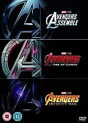 Avengers 1-3 Boxset [DVD] [2018]