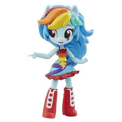 My Little Pony Equestria Girls Minis School Dance Rainbow Dash: Toys & Games