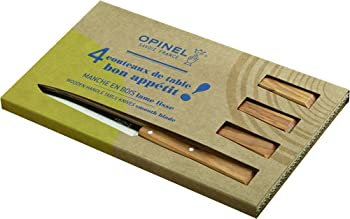 Opinel No. 125 Bon Appetit 4-Piece Table Knife Set
