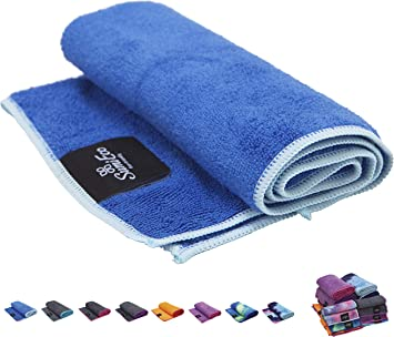 SUMI ECO ECO-FRIENDLY Extra Thick Yoga Mats Towel | Super Soft,Sweat Absorbent,Multicolored-Wicking Hot Yoga Rug for Pilates