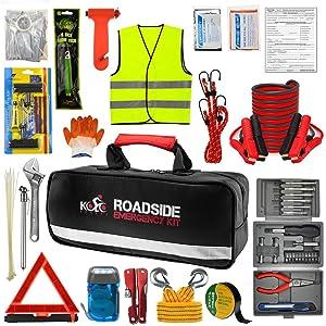 Kolo Sports Roadside Emergency Car Kit