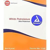 Dynarex White Petrolatum Foil Packs