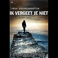 Ik vergeet je niet: iJslandse thriller