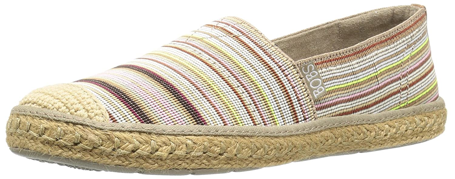 bf6b1c012d7c Skechers BOBS from Women s Flexpadrille-Cabana Party Flat  Amazon.co.uk   Shoes   Bags