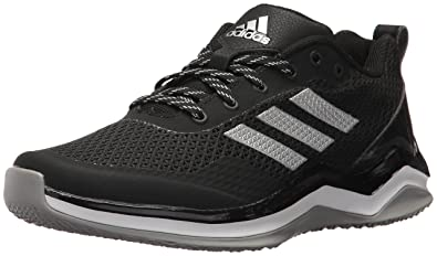 adidas Performance Boys' Speed Trainer 3 K Running Shoe, Black/Metallic  Silver/