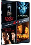 4-in-1 Suspense Collection - Panic Room/Flatliners/Perfect Stranger/Freedomland