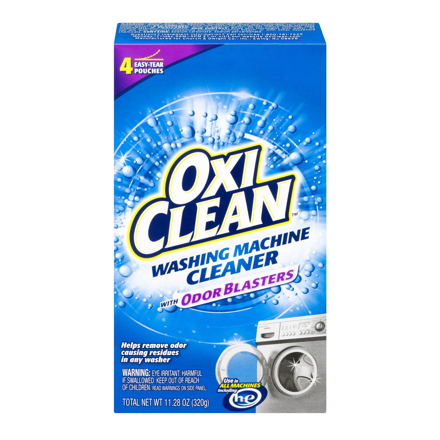 OxiClean Washing Machine Cleaner, 4 Count (3)