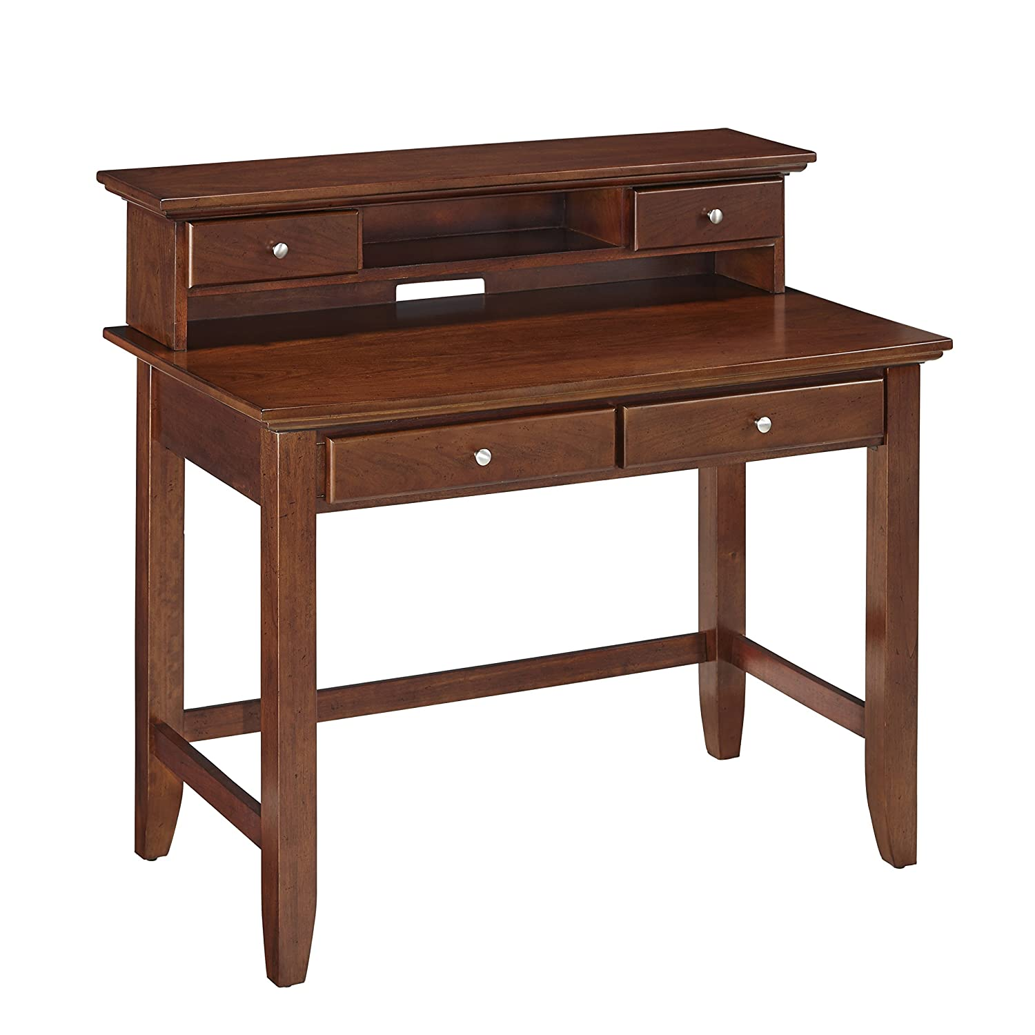 office desk styles. Amazon.com: Home Styles 5530-162 Naples Student Desk And Hutch, White Finish: Kitchen \u0026 Dining Office