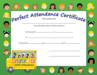 product image for Perfect Attendance Recognition Certificates