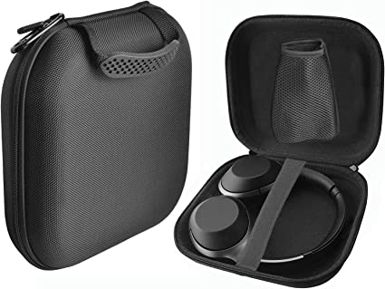 Black Hard Case for Sony WH-CH700N Wireless Bluetooth Noise Cancelling Headphones Travel Bag Protective Carrying Storage Box