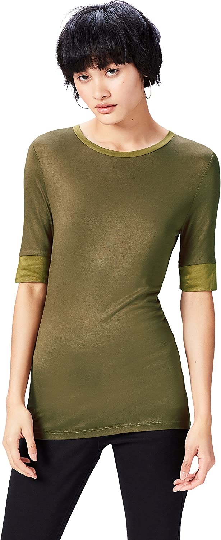 find Marchio T-shirt Girocollo Lunga Donna