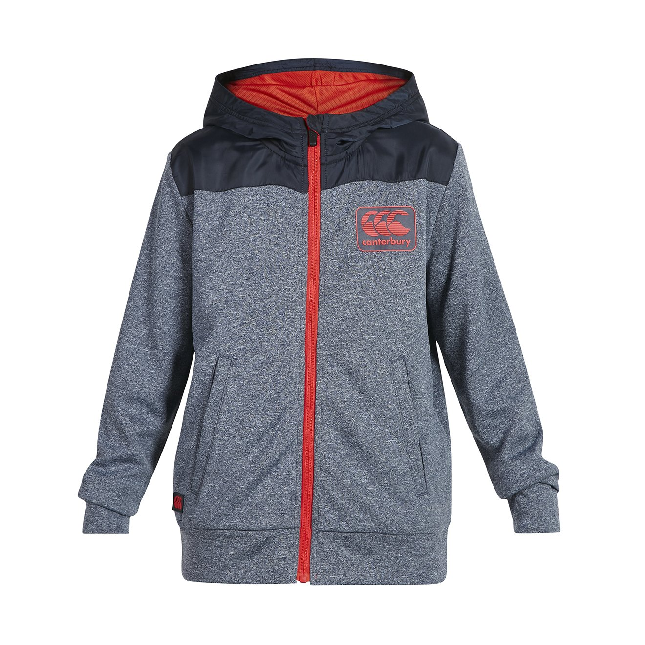 Canterbury Boys Vaposhield Zip Through Hoodie