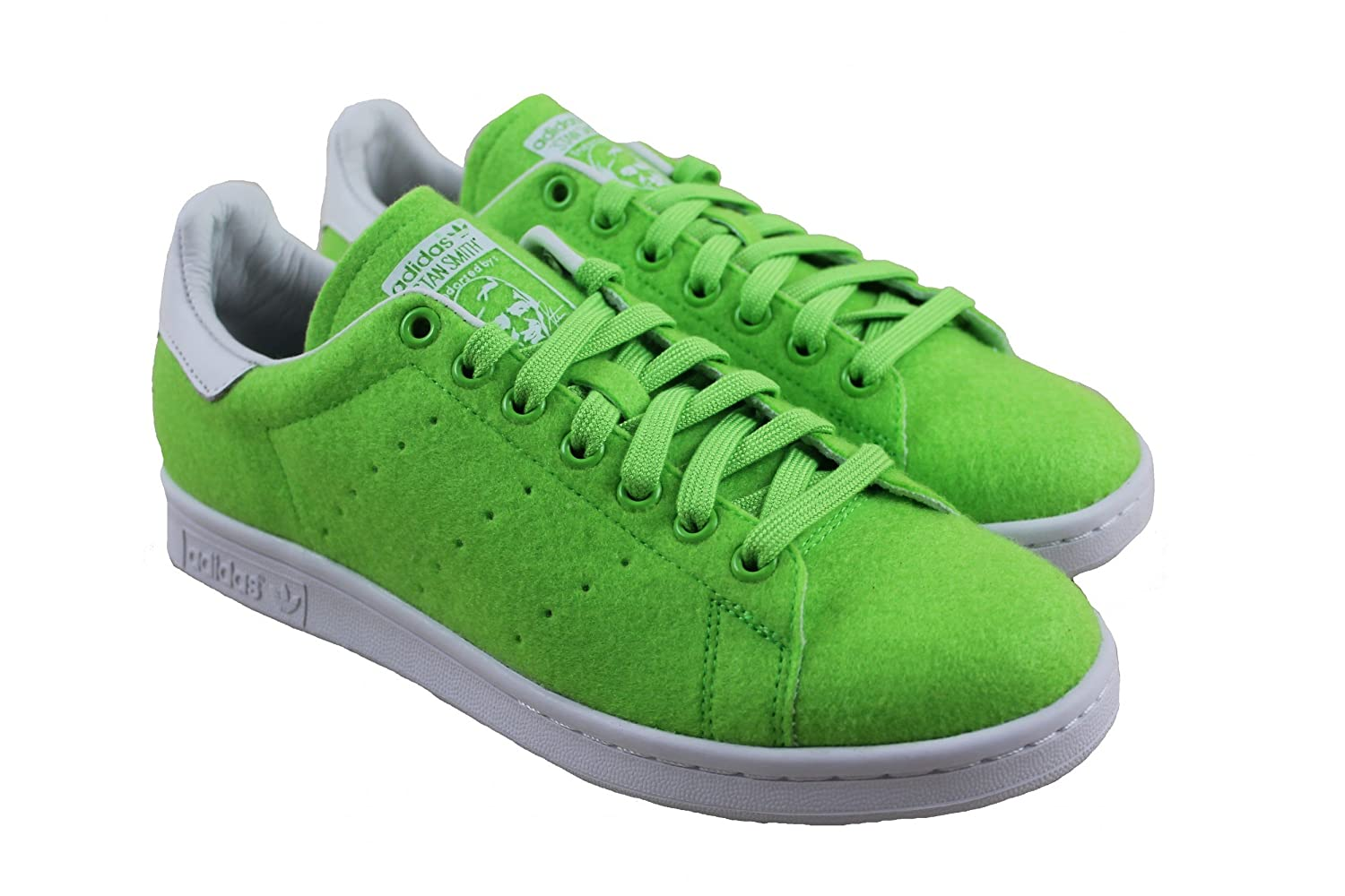 eb611c8cee5 Adidas - Stan Smith TNS - PW Solar Green - 42 2 3  Amazon.co.uk  Shoes    Bags