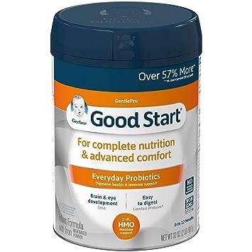 Gerber Good Start Gentle (HMO) Fórmula para bebés sin OMG ...