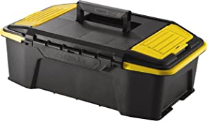 "Stanley STST1-71964""Click+Connect"" Tool Box, Black/Yellow"