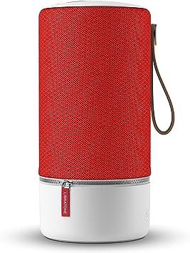 Libratone Zipp - Altavoz inalámbrico con Bluetooth (Multiroom, SoundSpaces, AirPlay, Bluetooth, DLNA, WiFi), Rojo