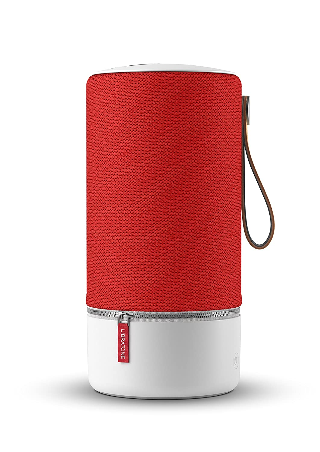 Libratone Zipp - Altavoz inalámbrico con Bluetooth (Multiroom, SoundSpaces, AirPlay, Bluetooth, DLNA, WiFi), Rojo