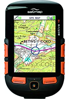 Satmap Active 10 Plus with GB Outdoor GPS Map: Amazon co uk
