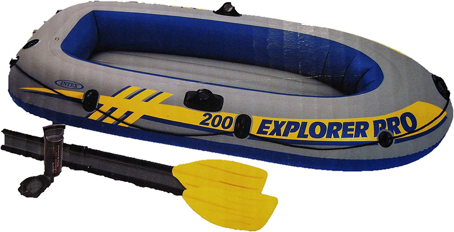 Amazon.com: Intex Explorer Pro 200 - Juego de barcos ...