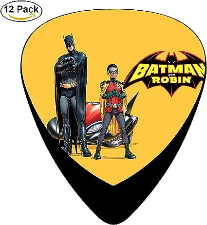 Robin y Batman Púas de guitarra púa para guitarra eléctrica o ...