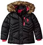 Amazon Price History for:U.S. Polo Assn. Girls' Bubble Jacket (More Styles Available)