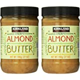 Kirkland Signature - Creamy Almond Butter, 27 Ounce - 2 Jars