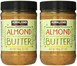 Kirkland Signature - Creamy Almond Butter, 27 Oz - 2 Jars
