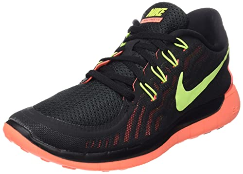 detailed look fdb30 d235b Nike Wmns Free 5.0 - Scarpe sportive Donna, multicolore (black volt-bright