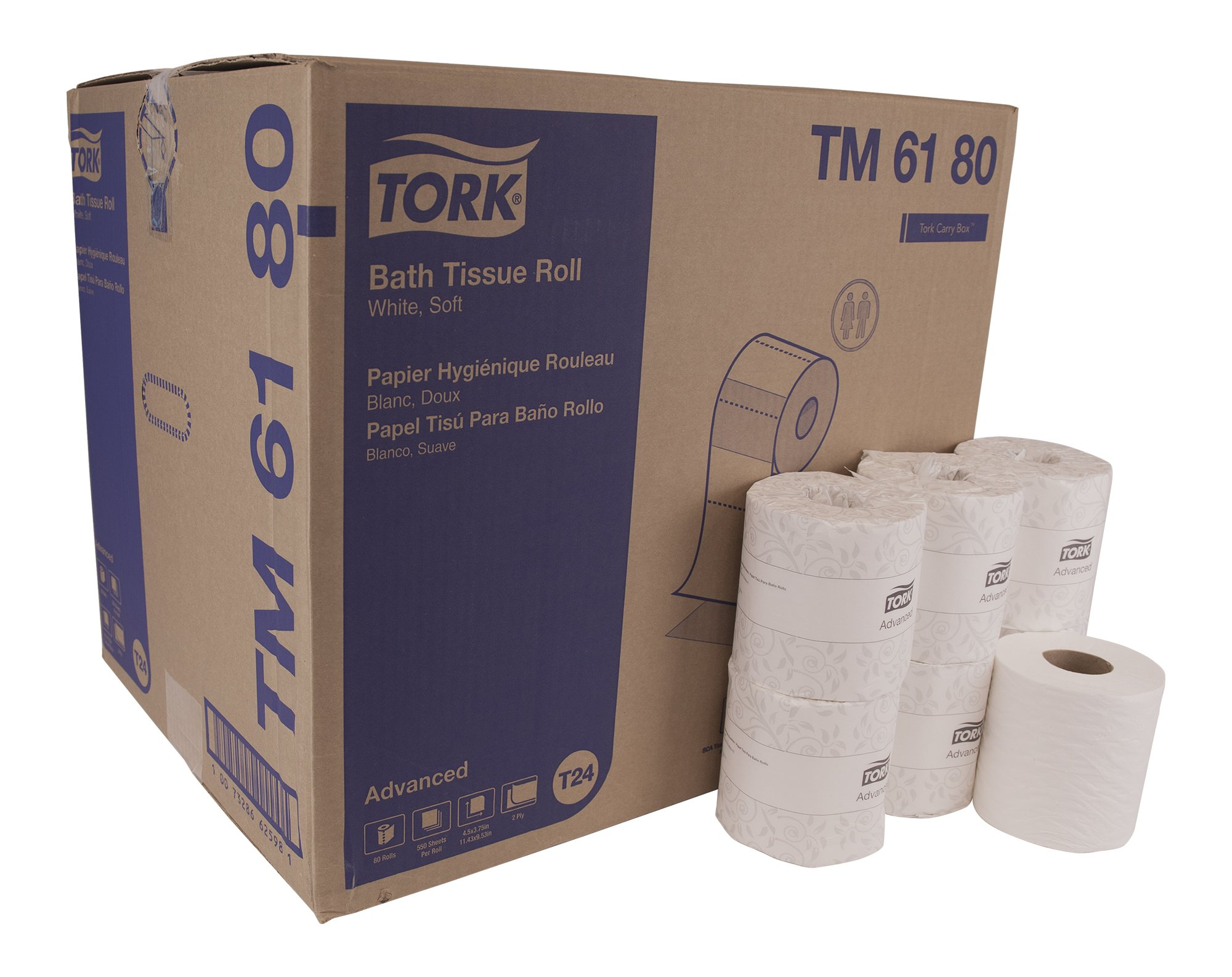 Tork Advanced TM6180 Soft Bath Tissue