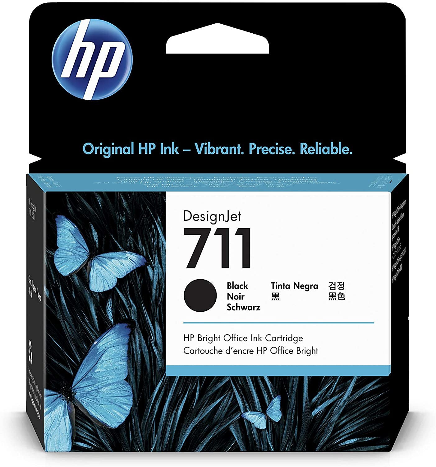 HP 711 80-ml Black Designjet Ink Cartridge (CZ133A) for HP DesignJet T120 24-in Printer HP DesignJet T520 24-in Printer HP DesignJet T520 36-in PrinterHP DesignJet printheads help you respond quickly by providing quality speed and easy hassle-free printing