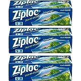 [セット品]ジップロック フリーザーバッグ Sサイズ 18枚入 3個セット ジッパー付き保存袋 冷凍・解凍用 (縦12.7cm×横17.7cm)