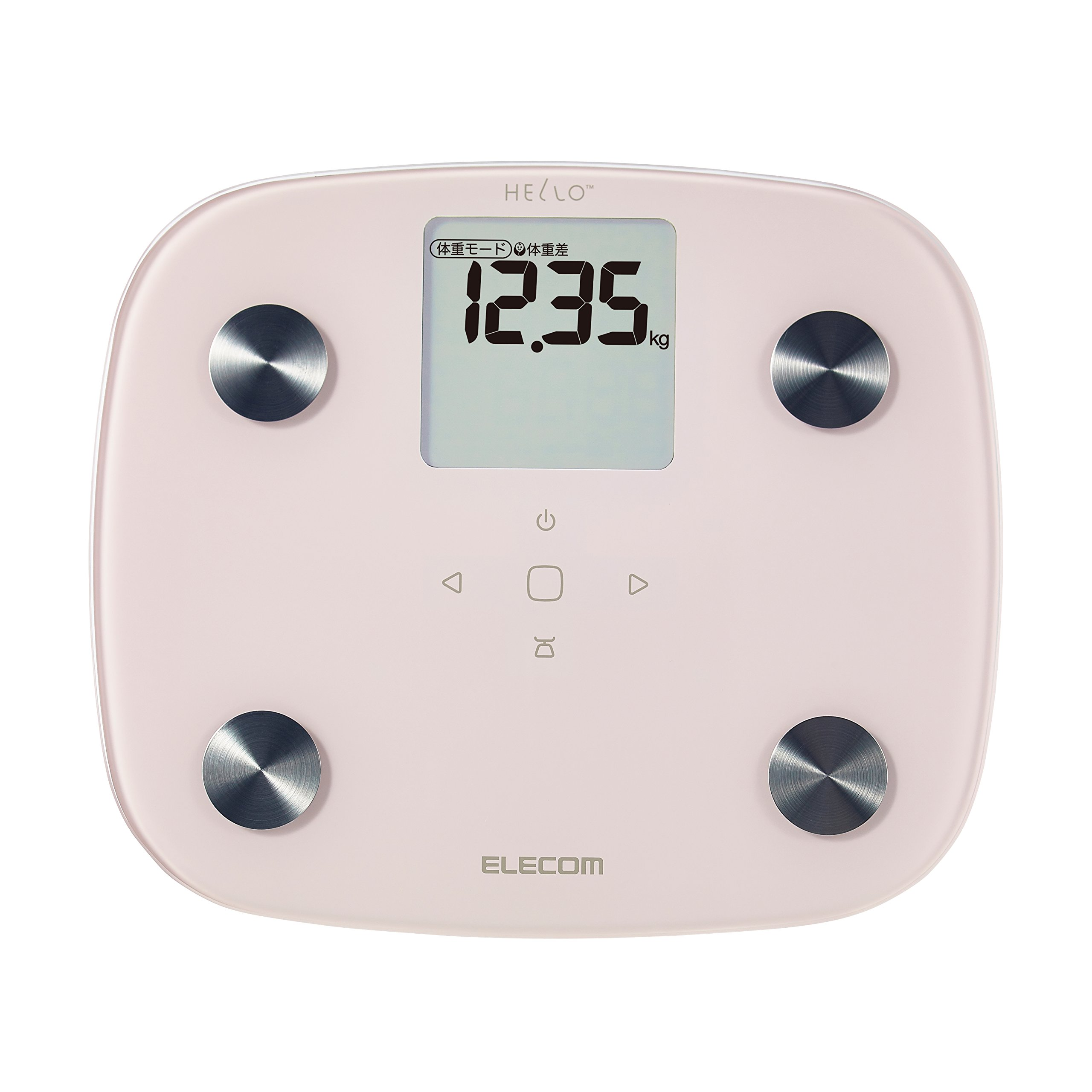 ELECOM WEIGHT AND BODY COMPOSITION ANALYZER ''HELLO Organization Composition'' HCS-FS02PN (PINK)【Japan Domestic genuine products】 by Elecom