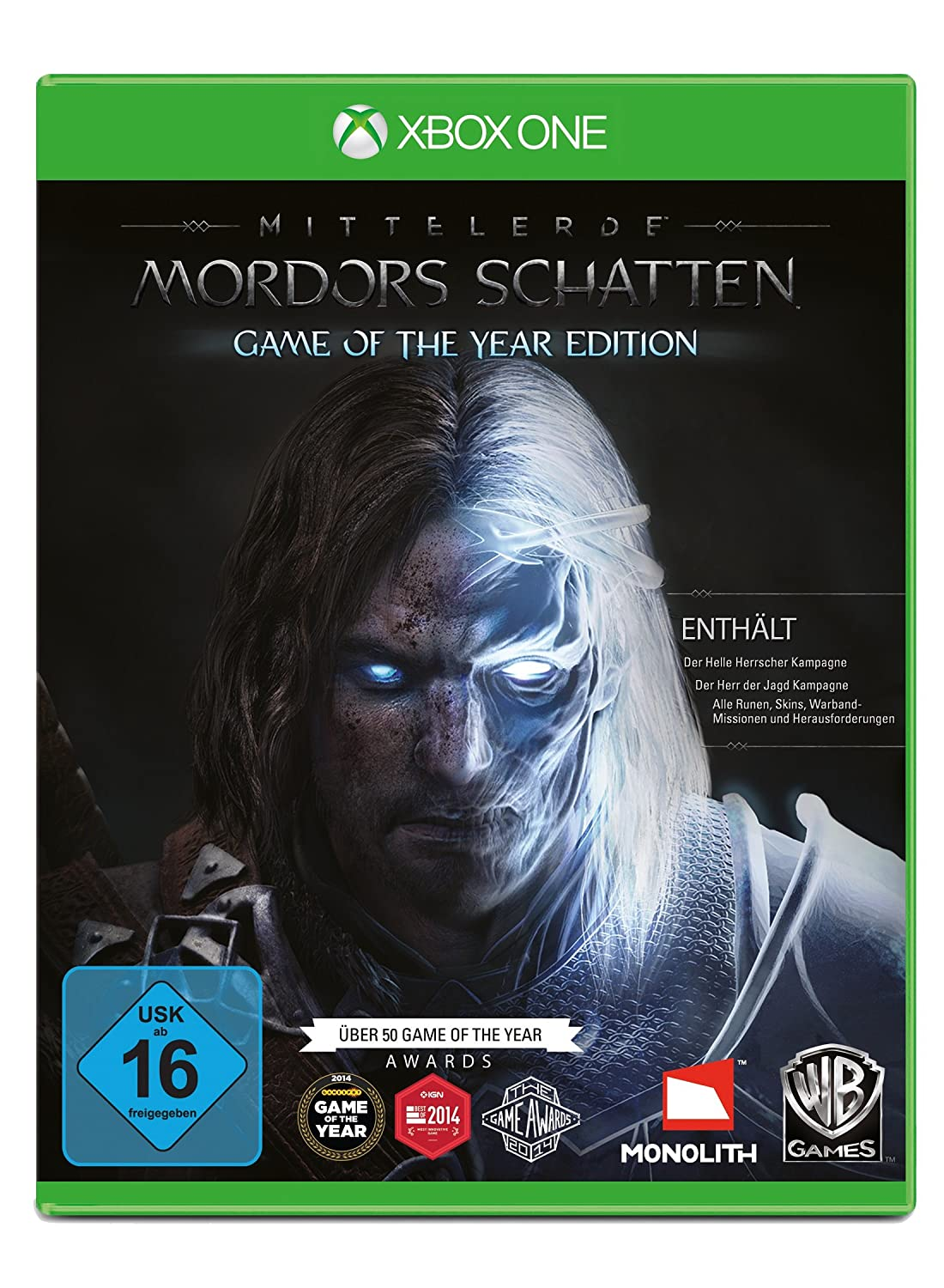 Mittelerde: Mordors Schatten - Game of the Year Edition