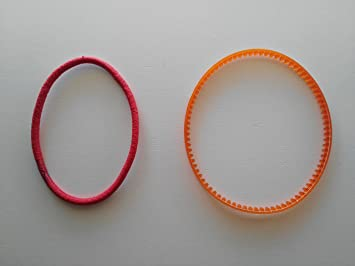 2 Correas para motor exterior de maquinas de coser domesticas: Amazon.es: Hogar