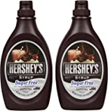 Hershey's Sugar Free Chocolate Syrup Bottle - 17.5 oz - 2 pk