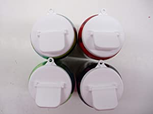 Beverage Buddee Can Cover - Best Can Cover For Standard Size Soda/Beer/Energy Drink Cans - Made In The USA - BPA-PCB Free - 4 pack(White)