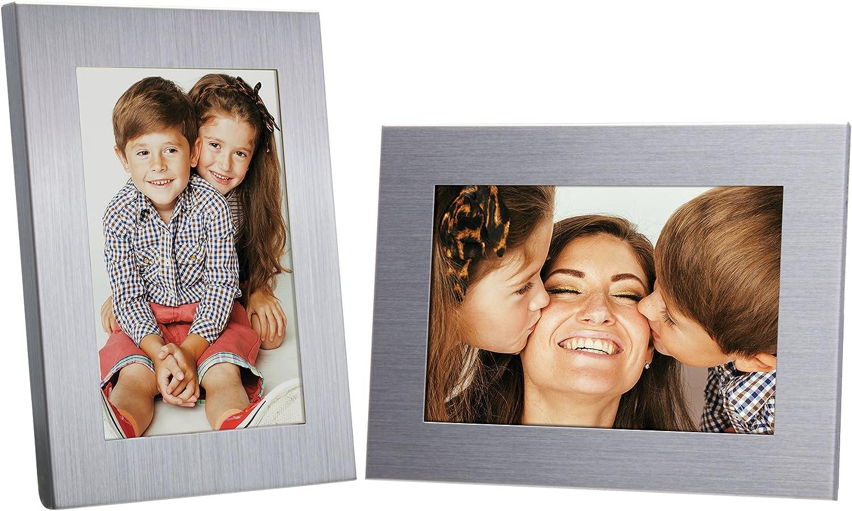 """Neil Enterprises, Inc 2.5"""" x 3.5"""" Silver Picture Frame (1)"""