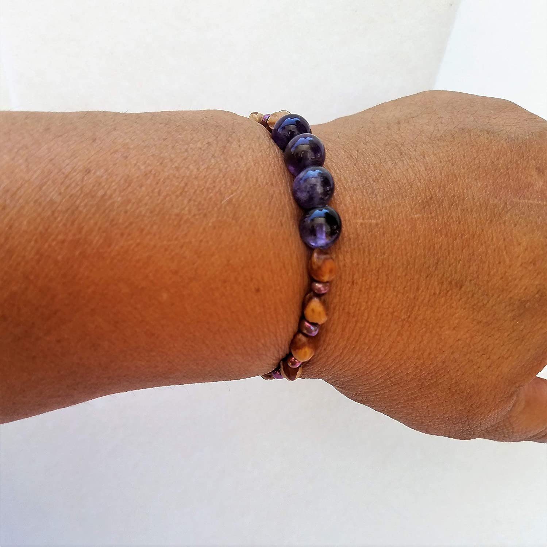 Stretch Ghost Bead Bracelets