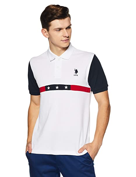 big selection of 2019 fast delivery unparalleled US Polo Men's Solid Regular Fit T-Shirt